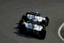 Міхаель Шумахер, Mercedes GP і Серхіо Перес, Sauber F1 Team