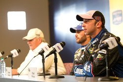 Post-race press conference: race winner Jimmie Johnson, Hendrick Motorsports Chevrolet with Rick Hendrick and Chad Knaus