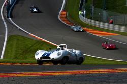 Pace lap, #46 Lister Jaguar Costin: Alex Buncombe