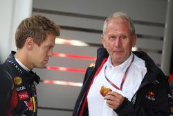 Sebastian Vettel, Red Bull Racing ad Helmut Marko, Red Bull Racing, Red Bull Advisor