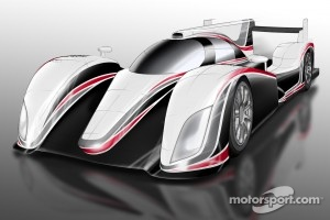 Concept drawing of the new Toyota LMP1