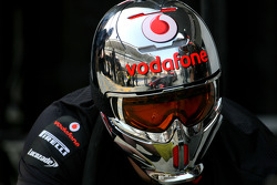 McLaren Mercedes mechanic