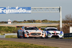 #11 Gravity Charouz Racing Mercedes-Benz SLS AMG GT3: Leo Machitski/Stefano Rosina
