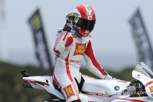 Second place for Marco Simoncelli