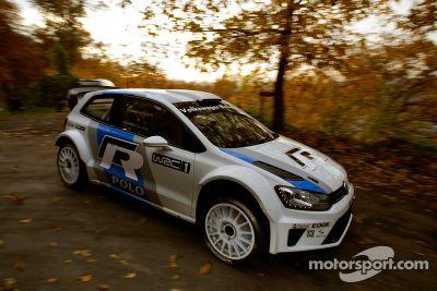 Polo R WRC test