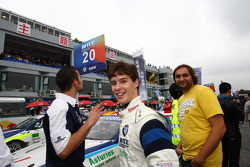 Javier Villa, BMW 320 TC, Proteam Racing and his manager Jose Ramon Galan