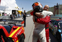 Francesco Pastorelli and Yelmer Buurman celebrate the win