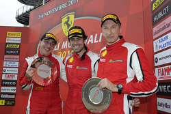 Coppa Shell race 1 podium