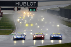 Start: race 1 Ferrari Challenge Europe and Asia Pacific