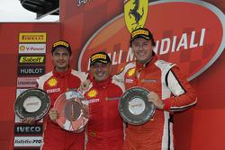 Coppa Shell Ferrari Europa race 2 podium