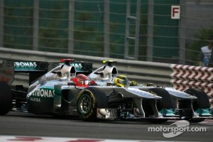 """""""A very lively first lap,"""" according to Ross Brawn"""