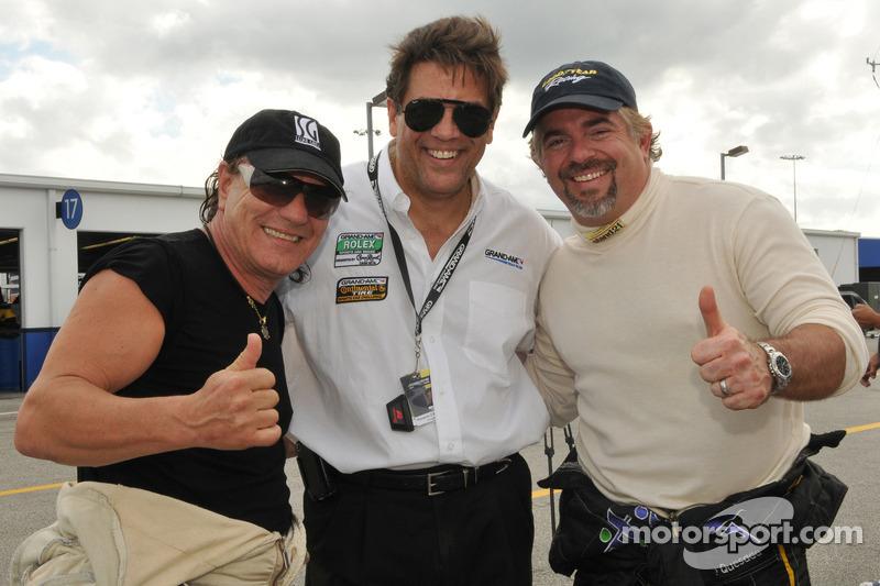 Brian Johnson and Carlos de Quesada