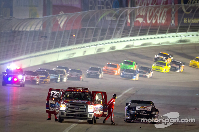 Cole Whitt, Toyota after crashing