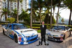NASCAR Nationwide Series champion owner Jack Roush