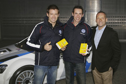Sébastien Ogier, Julien Ingrassia and Kris Nissen, Volkswagen Motorsport