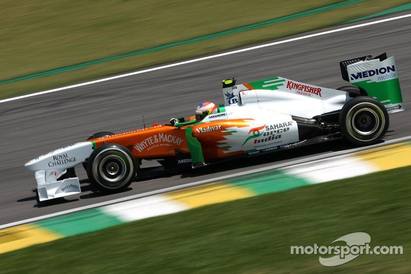 Пол ди Реста, Force India F1 Team