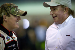 Ty Dillon, RCR Chevrolet, with grandad Richard Childress