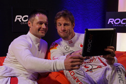 Andy Priaulx et Jenson Button