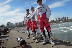 James Przygonski, Jacek Czachor y Marek Dabrowski