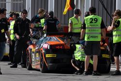 #29 Leipert Motorsport Lamborghini Gallardo LP600: Tobias Neuser, Jean-Marc Merlin