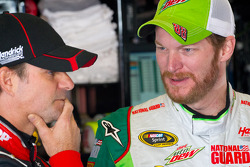 Jeff Gordon und Dale Earnhardt Jr.