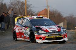 Martin Prokop en Jan Tomanek, Ford Fiesta RS WRC