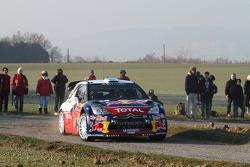 Mikko Hirvonen en Jarmo Lehtinen, Citroën DS3 WRC, Citroën Total World Rally Team