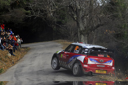 Pierre Campana and Sabrina de Castelli, Mini John Cooper Works WRC, MINI WRC TEAM
