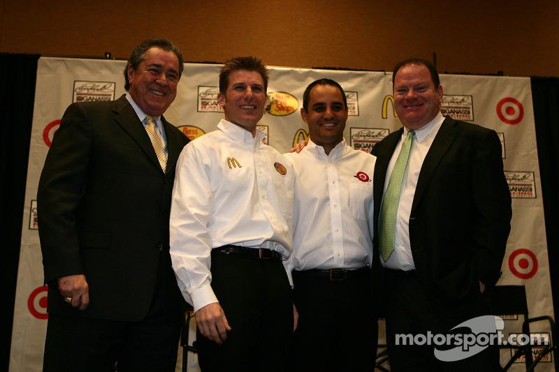 Felix Sabates, Jamie McMurray, Earnhardt Ganassi Racing Chevrolet, Juan Pablo Montoya, Earnhardt Ganassi Racing Chevrolet, Chip Ganassi