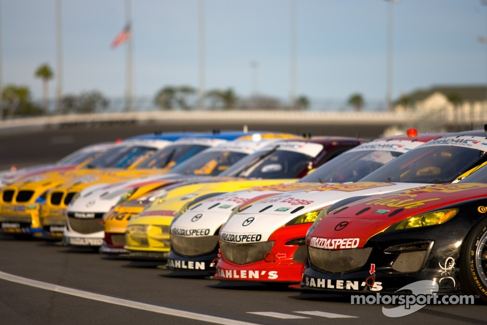 2012 GT cars at Daytona