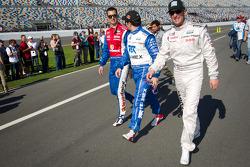 Graham Rahal, Memo Rojas and Joey Hand
