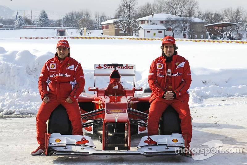 2012 - Ferrari - Fernando Alonso 278 X 122 Felipe Massa