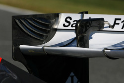 Technical detay, arka kanat - Sauber C31 Ferrari Launch