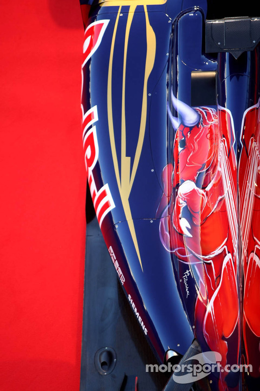 Toro Rosso STR7: Seitenkasten