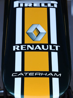 Caterham F1 Team nose cone