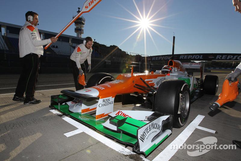 Jules Bianchi, Sahara Force India Formula One Team testrijder