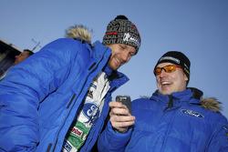 Jari-Matti Latvala and Petter Solberg, Ford World Rally Team