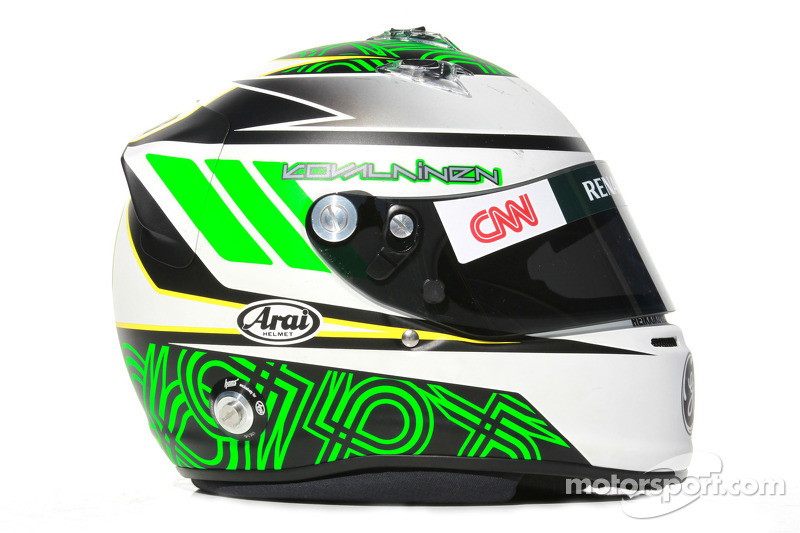 Heikki Kovalainen, Caterham F1 Team helm