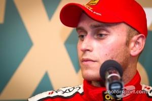 Ferrari driver Jeff Segal