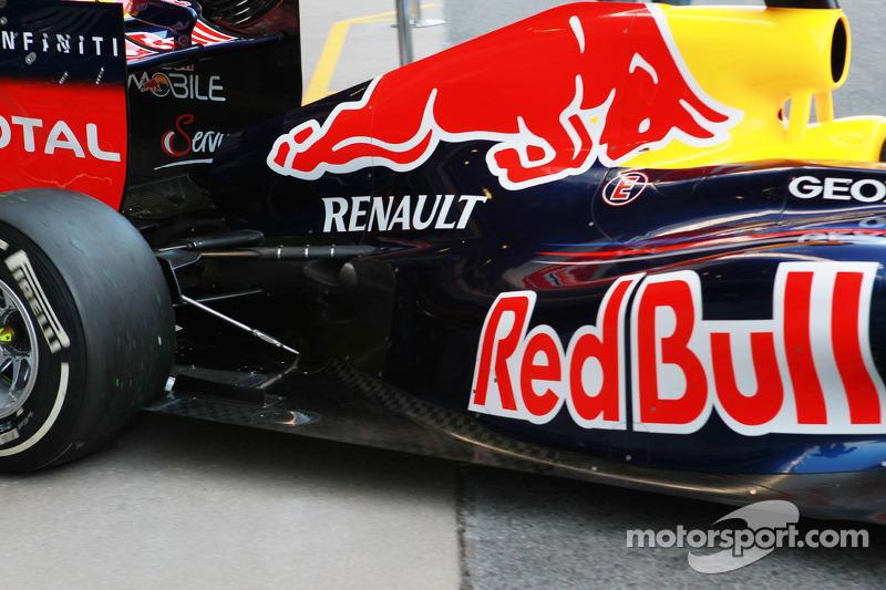 Sebastian Vettel, Red Bull Racing achterkant