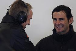Pedro de la Rosa, HRT Formula One Team with Martin Whitmarsh, McLaren, Chief Executive Officer
