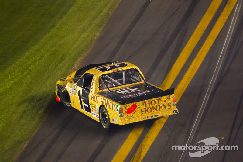 Johnny Sauter, ThorSport Racing Toyota na crash