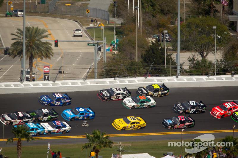 Justin Allgaier, Turner Motorsports Chevrolet overstuur