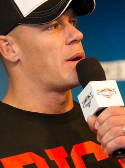 Press conference: professional wrestler John Cena