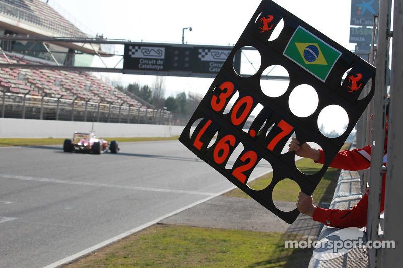 Felipe Massa, Scuderia Ferrari pitbord