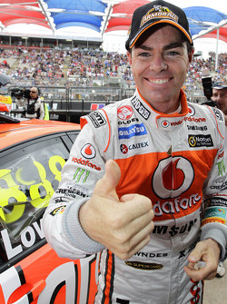 Pole winner Craig Lowndes