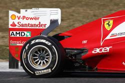 Ferrari  rear wing