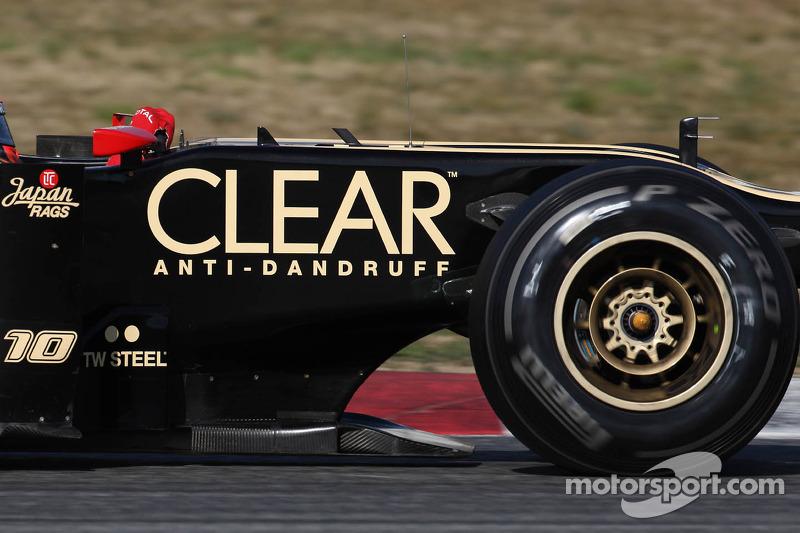 Lotus Renault F1 Team vloer