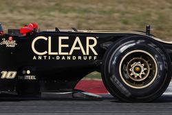 Lotus Renault F1 Team tea tray area