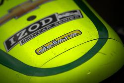 Car detail of Tony Kanaan, KV Racing Technology Chevrolet